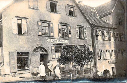 Stadtrat Adolf Wolber (1873 bis 1928) mit seiner Frau Luise und Sohn Paul im Jahr 1925  Foto: Privat Foto: Schwarzwälder Bote