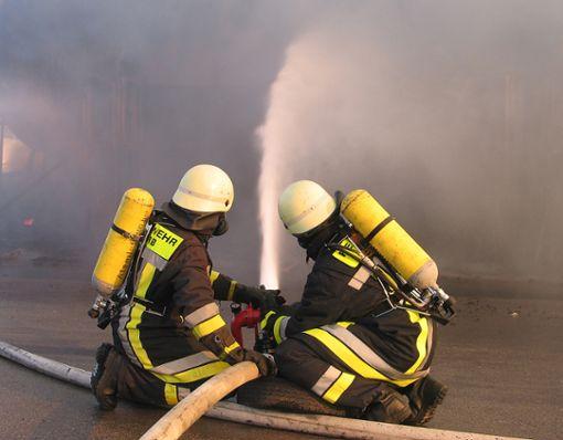 Die Feuerwehr Horb braucht bei ihrer Schnelligkeit den Vergleich mit anderen Städten nicht zu scheuen.  Foto: Hopp Foto: Schwarzwälder Bote