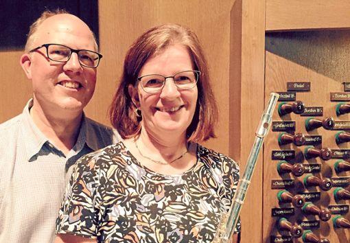 Bernard Sanders  und Maria Dresen gestalten das Konzert in der Stadtkirche Balingen.   Foto: Privat Foto: Schwarzwälder Bote
