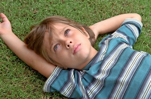 """US-Regisseur Richard Linklater hat über zwölf Jahre hinweg """"Boyhood"""" gedreht, sein wunderbares Familienepos, in dem Ellar Coltrane  vor den Augen der vom Kind zum Mann reift Foto: dpa Foto: IFC Films"""