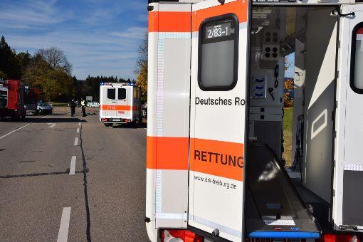 Bei dem Unfall nahe der Bergfelder Klinge wurden vier Menschen verletzt. (Symbolfoto) Foto: kamera24.tv
