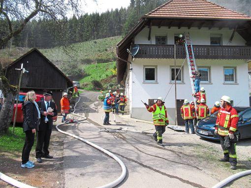 Das Anwesen Müller im Hagsbach bot mit Nebengebäuden, besonderer Nähe zum Wald und Wassermangel viele Herausforderungen.   Foto: Störr