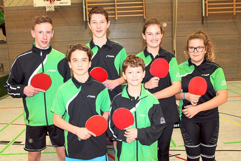 Auch Blumberger Nachwuchsspieler beteiligten sich am Tischtennisturnier der Jugend. Foto: Baltzer Foto: Schwarzwälder Bote