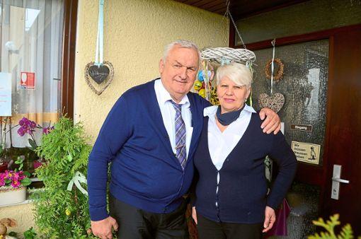 In wenigen Wochen werden Blago und Lilly Pehar die  Althengstetter Sportgaststätte  ein letztes Mal abschließen.   Foto: Bausch Foto: Schwarzwälder Bote