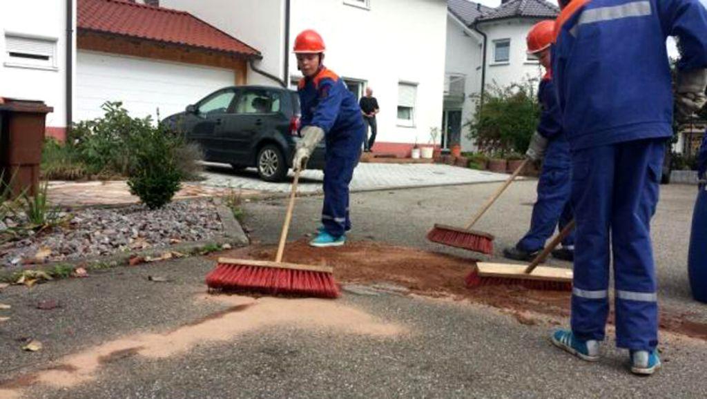 Epfendorf: Jugendliche Tag und Nacht im Einsatz