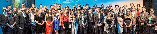 Die Absolventen der Fakultät Digitale Medien nahmen bei einer Feier ihre Abschlussurkunden entgegen.  Foto: Viets Foto: Schwarzwälder-Bote