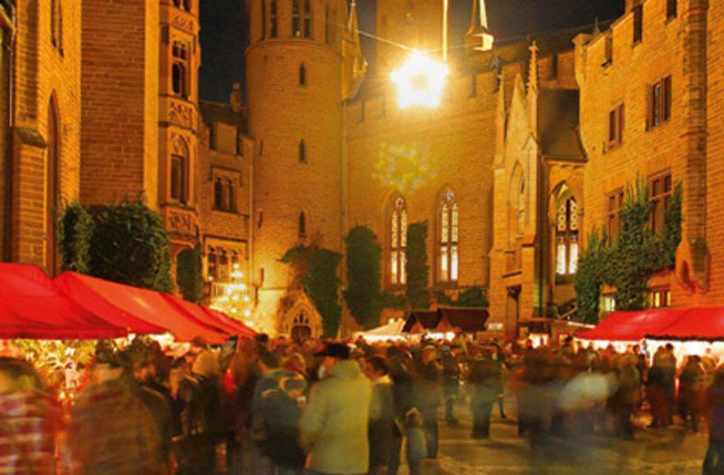 Bisingen Koniglicher Weihnachtsmarkt Auf Der Burg Hohenzollern Zollernalb Schwarzwalder Bote