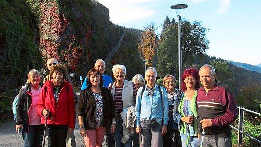 Oberndorf a. N.: Auf Panoramaweg bei Hornberg unterwegs - Schwarzwälder Bote - Schwarzwälder Bote