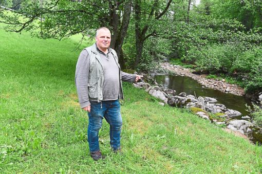 Schäfer Gernot Fröschle glaubt nicht, dass die Zuschüsse ausreichen. Foto: Mutschler