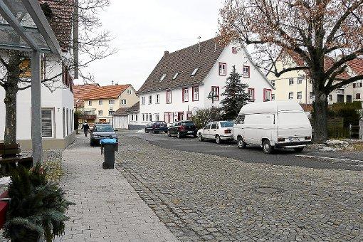 Die Gemeinde Jungingen will im kommenden Jahr auch in die Östliche Bahnhofstraße investieren. Foto: Hanauer