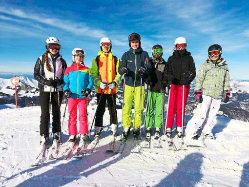 Einen schönen Tag erlebte die Gruppe des Schneesport-Clubs in Österreich.  Foto: Schneesport-Club Foto: Schwarzwälder Bote