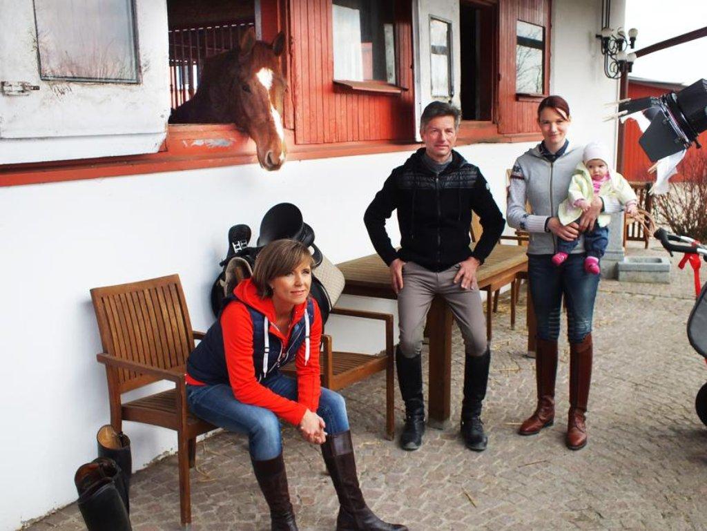 Albstadt Kamerateam Besucht Olympiasieger Martin Schaudt Albstadt Schwarzwalder Bote