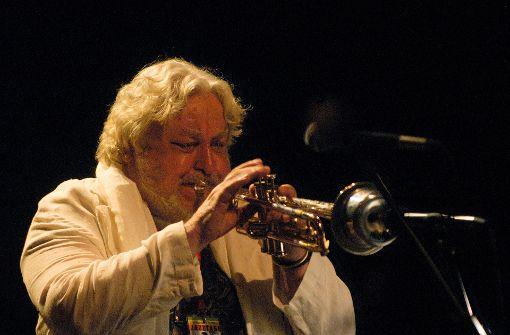 Der Landes-Jazzpreis-Ehrenträger Herbert Joos Foto: Theaterhaus/Jörg Becker