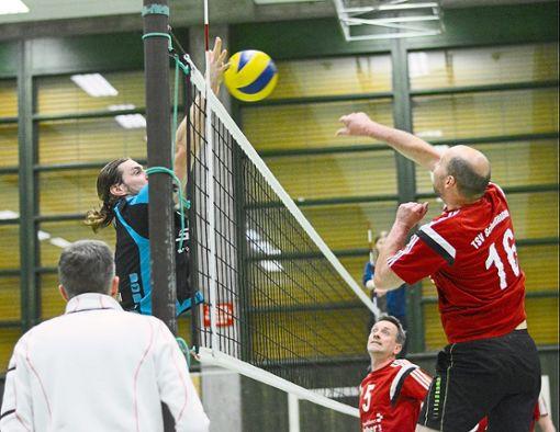 Kapitän Simon Hauser vom TSV Rottweil im Block. Foto: Schwarzwälder Bote