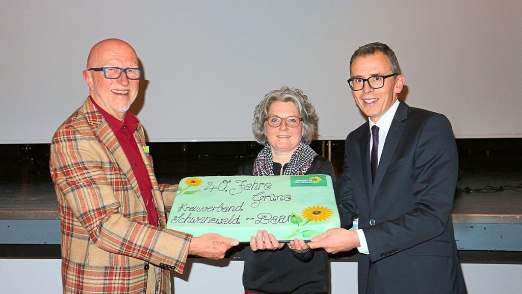 Villingen-Schwenningen: Grüne feiern 40 Jahre Kreisverband - Villingen-Schwenningen - Schwarzwälder Bote