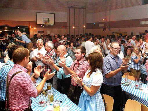 Gute Stimmung ist garantiert  beim Oktoberfest der Obernheimer Lyra. Foto: Schwarzwälder Bote