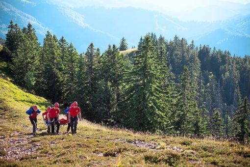 Zu insgesamt 13 Einsätzen mussten die Bergretter ausrücken.    Foto: Bergwacht Schwarzwald