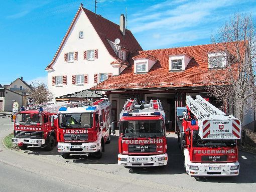 Technisch ist die Feuerwehr Rosenfeld gut ausgestattet. Es fehlt aber an Aktiven, die tagsüber zur Verfügung stehen. Foto: Archiv