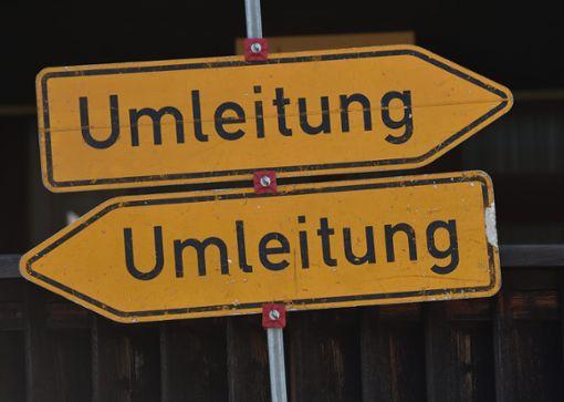 Die Sperrung geht mit Einschränkungen für den Verkehr und für die Einwohner einher. (Symbolfoto) Foto: Warmuth