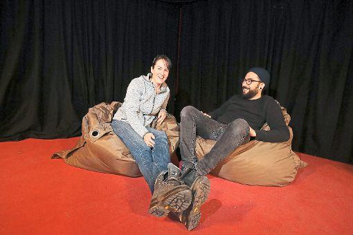 Die Vorfreude steigt: Die Organisatoren des VS Music Contest, Sybille Roth und Daniel Leguy-Madžar, können nach der Zwangspause einige Neuerungen präsentieren. Foto: Eich