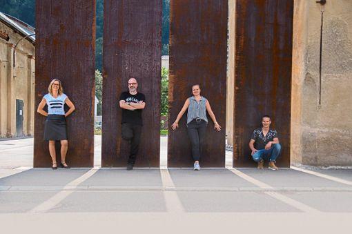 Das Musik-Projekt RuheZone. Foto: Fleckenstein