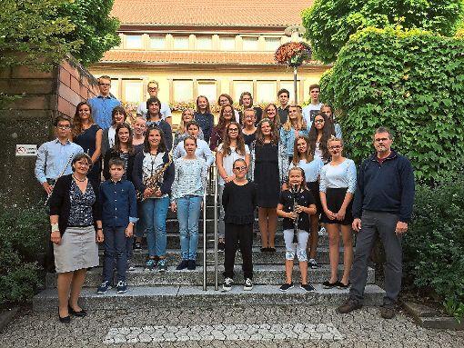 Einen gelungenen Konzertabend boten  Schüler der Jugendmusikschule.  Foto: Jugendmusikschule Foto: Schwarzwälder-Bote