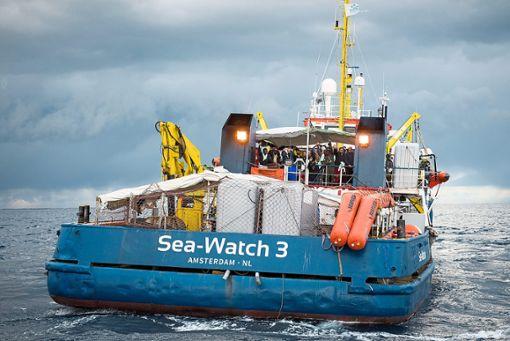 Die Sea Watch 3. Foto: Grodotzki