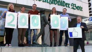 Oberndorf a. N.: Facebook-Seite knackt 20.000 Likes