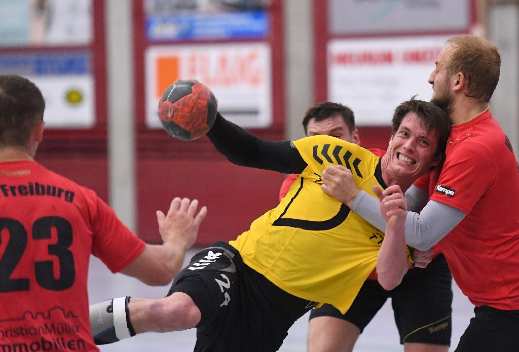 handball tv st georgen wahrt wei e weste handball schwarzw lder bote. Black Bedroom Furniture Sets. Home Design Ideas