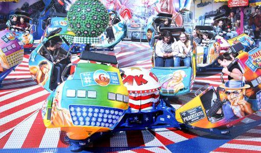 Das Fahrgeschäfte Breakdance ist neben vielen weiteren Attraktionen auf dem Rottweiler Volksfest zu finden.  Foto: privat Foto: Schwarzwälder Bote