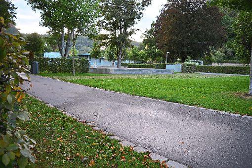 Der  Nagolder Stadtpark Kleb ist abends ein beliebter Treffpunkt. Das bringt auch Probleme mit sich.   Foto: Buckenmaier