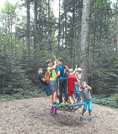 Beim Sommerferienprogramm 2019 wird es noch mehr Angebote geben, bei denen die Kinder auf ihre Kosten kommen, wie hier im vergangenen Jahr beim Traillauf.  Foto: Maidorn-Groth