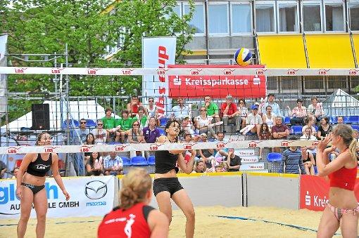 Volleyball der Spitzenklasse gibt es am Wochenende in Freudenstadt zu sehen.   Foto: Peters