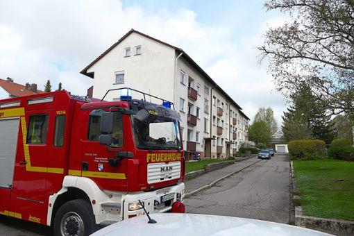 Die Schwenninger Feuerwehr musste am Montag zu einem  Einsatz in der Heilbronner Straße ausrücken.   Foto: Riesterer