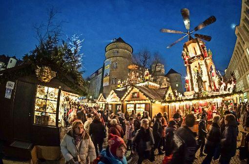 Mehr als vier Millionen Besucher haben 2016 den Weihnachtsmarkt in Stuttgart besucht. Foto: Lg/ Zweygarth