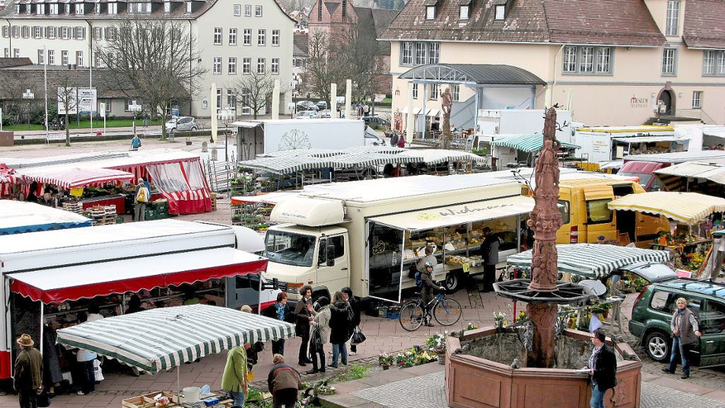 Freudenstadt: Kommt der Wochenmarkt am Samstag doch? - Freudenstadt - Schwarzwälder Bote