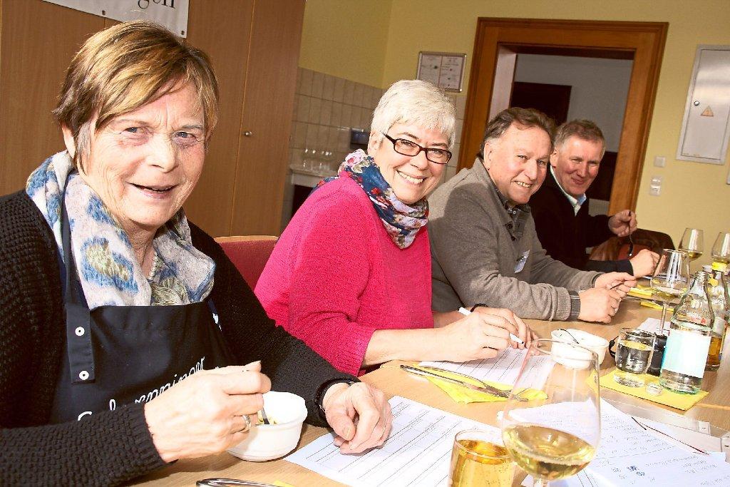 Die Hobbyköche Herta Storz, Anette Salomon Berle, Karin