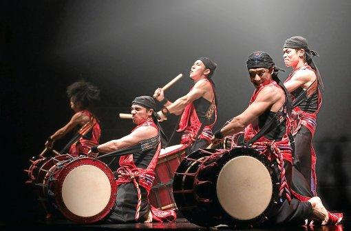 Yamato – The Drummers of Japan gastiert morgen, Donnerstag,, mit dem neuen Programm Matsuri beim Calwer Klostersommer. Foto: Schwarzwälder-Bote