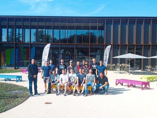 Die Schüler der Fachschule für Technik in Oberndorf mit ihrem Klassenlehrer Frank Berger  Foto: Beruflichen Schulen Oberndorf-Sulz Foto: Schwarzwälder Bote
