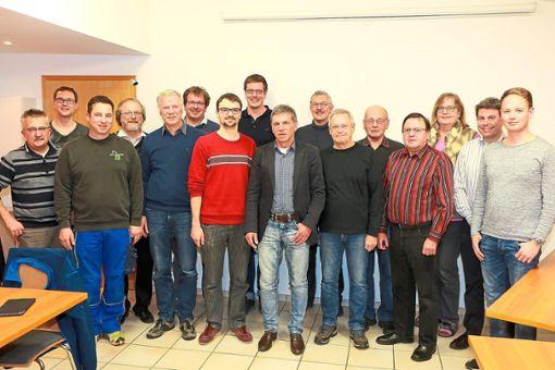 Das sind die Gründungsmitglieder mit dem  Vorsitzenden Karl-Heinz Wentsch (Mitte).   Foto: Kraushaar Foto: Schwarzwälder Bote