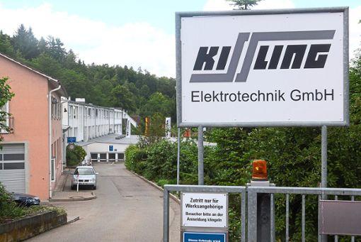 Die Zentrale von Kissling befindet sich im Wildberger Teilort Sulz am Eck. Foto: Bernklau