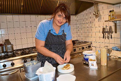 Luisa Zerbo kocht derzeit bei The Taste leckere Löffel.  Foto: Kratt