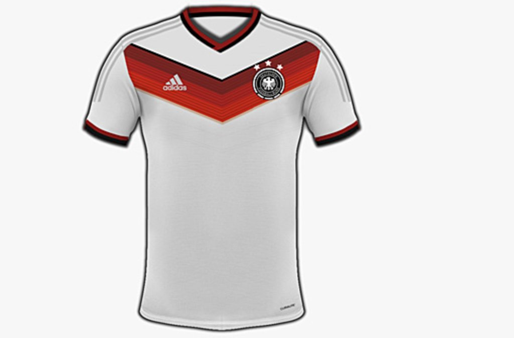 fu ball nationalmannschaft sieht so das neue dfb trikot f r die wm 2014 in brasilien aus. Black Bedroom Furniture Sets. Home Design Ideas