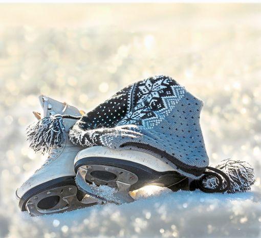 Erstmals könnte es in Nagold in der Vorweihnachtszeit eine Eisbahn geben. Foto: Astrid Gast – stock.adobe.com