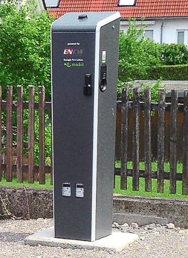 Das Aufladen von Elektroautos an den inzwischen weit verbreiteten Ladesäulen kostet jetzt.  Foto: ENCW Foto: Schwarzwälder Bote