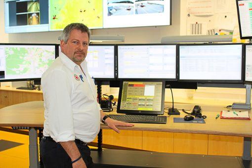 Dirk Sautter arbeitet seit mehr als 25 Jahren im Rettungsdienst.  Foto: Böhm