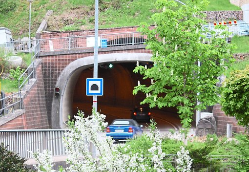 Wegen einer Feuerwehr-Übung wird der Schramberger Schlossbergtunnel gesperrt. Foto: Stadt