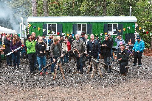 Am 1. Mai 2016  wurde der  Waldkindergarten Räubernest in Bieselsberg offiziell eingeweiht. Er entwickelte sich zur Erfolgsgeschichte.  Archivfoto: Kraushaar Foto: Schwarzwälder-Bote