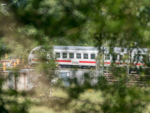 Der Zug blieb wegen eines technischen Defekts liegen. (Symbolbild) Foto: dpa