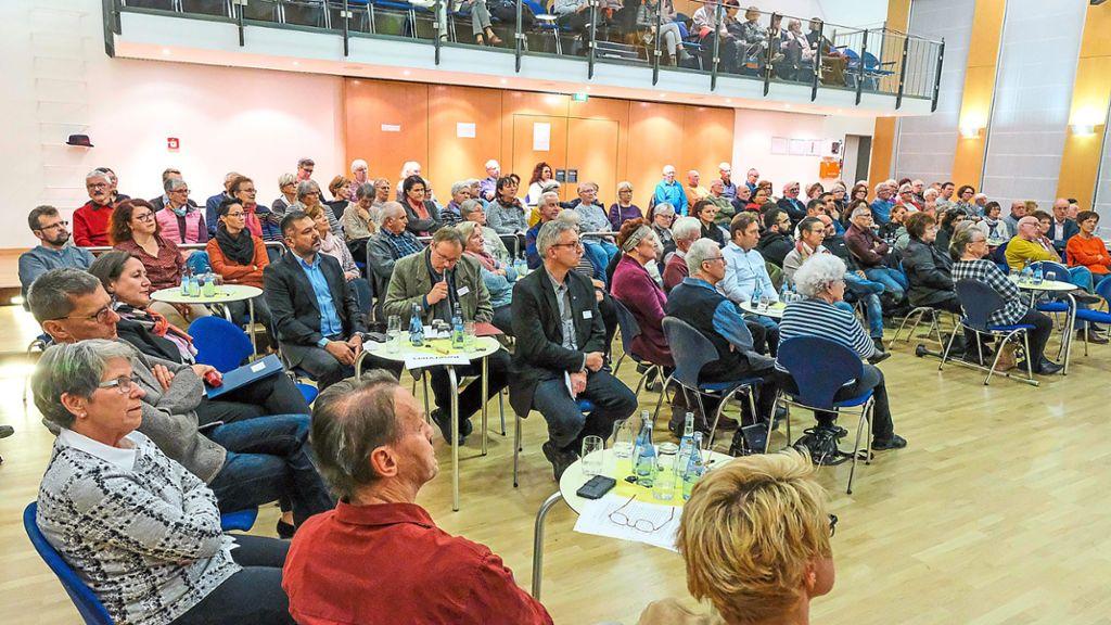 Nagold: Der Gesprächsbedarf will nicht enden - Schwarzwälder Bote - Schwarzwälder Bote